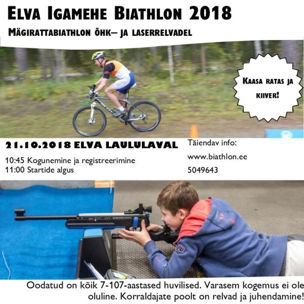 Elva mägirattabiathlon 2018