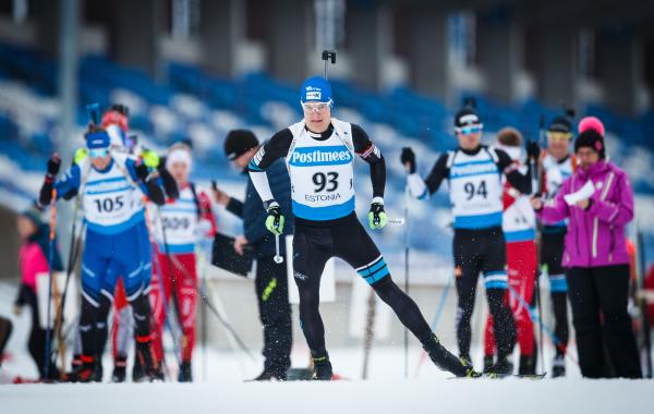 Rene Zahkna tõusis jälitussõidus kullale (foto: Jarek Jõepera)